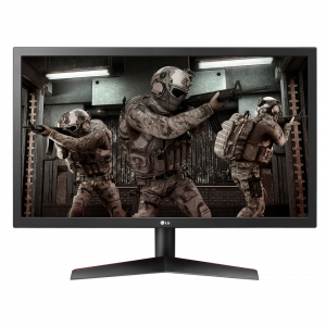 Monitor Gamer LG 24' Full HD 144 Hz  Widescreen 24GL600F..