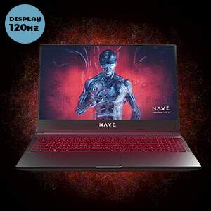 Notebook Gamer NAVE Polaris GK5NP50 - 120hz..