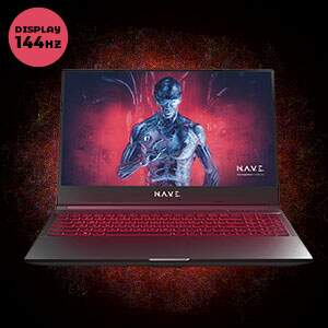 Notebook Gamer NAVE Polaris GK5NP50 2 - 144hz..